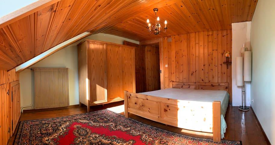 Oasis de repos Souleroc - 'Chambre mansardée'