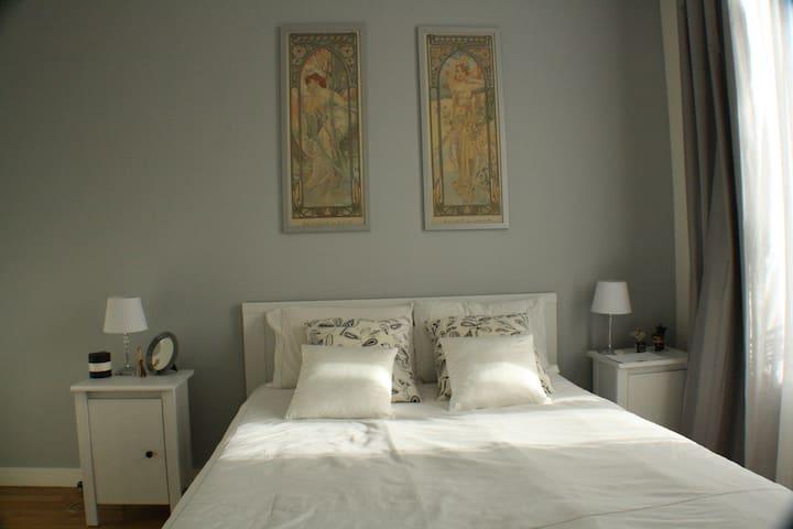 Charming luminous 1 bedroom flat - Saint-Ouen - Appartement