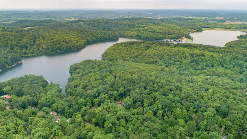 Leesville Lake *Serenity*- NO Reception NO WiFi!