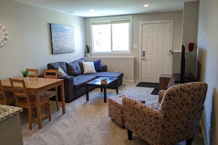 Cozy Private Suite near ATB center