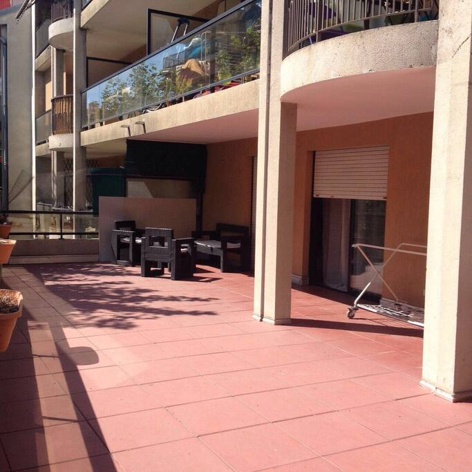 grande terrasse de 51 m2