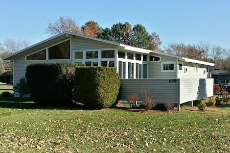 Unique home with enclosed porch area - Bethany Beach - Inny