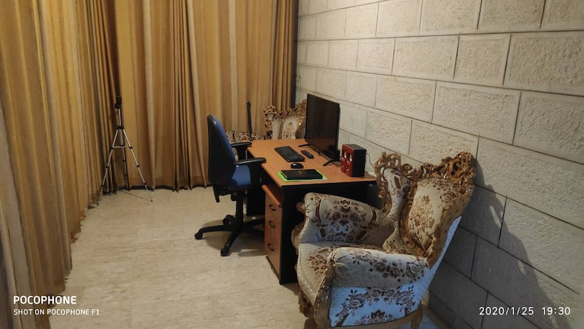 A very calm apartment in the city center/ Ramallah