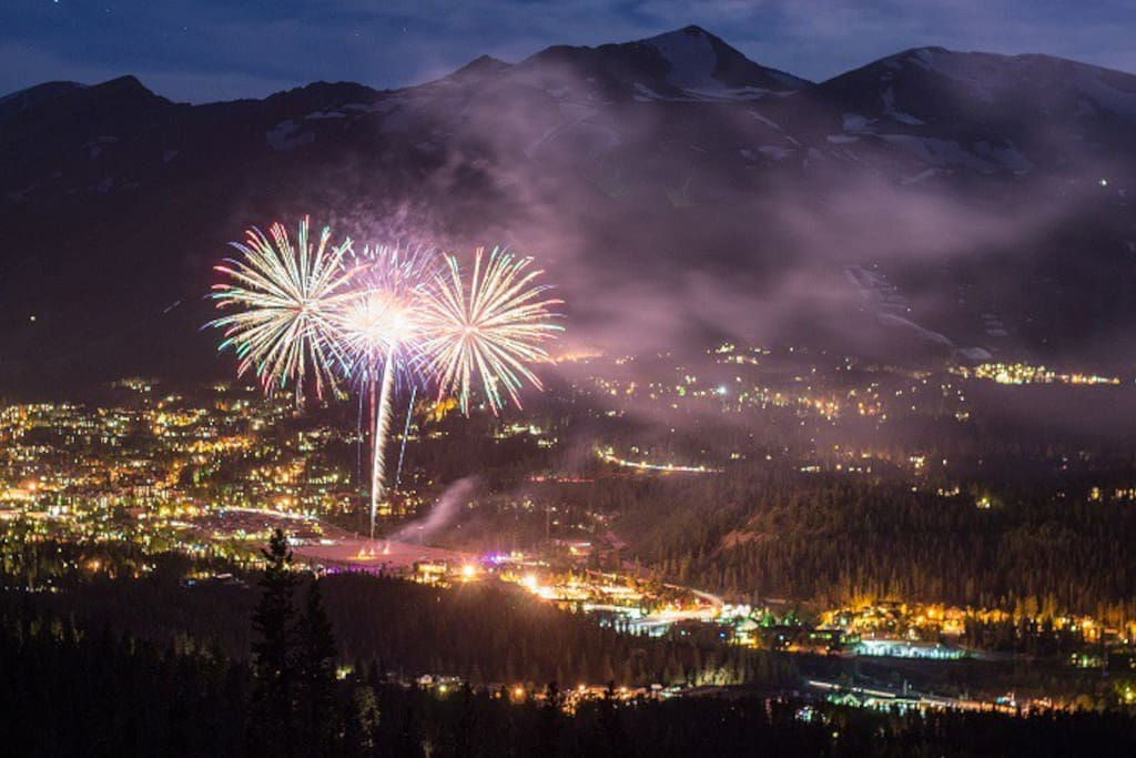 4th of July in Breck