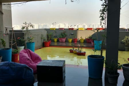 Homestay wid Private Terrace Garden - Ahmedabad - Lejlighed