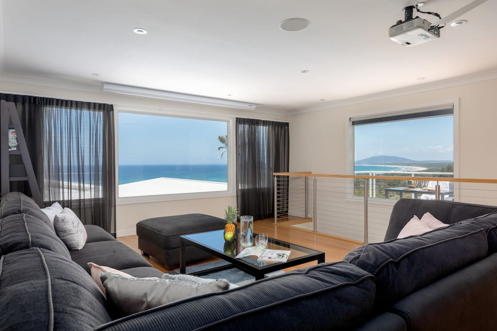 stunning views from lounge room