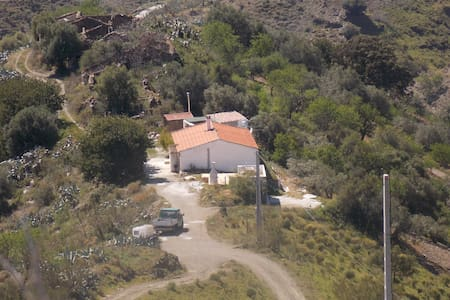 Finca (Alleinlage) nahe Malaga - Moclinejo - บ้าน