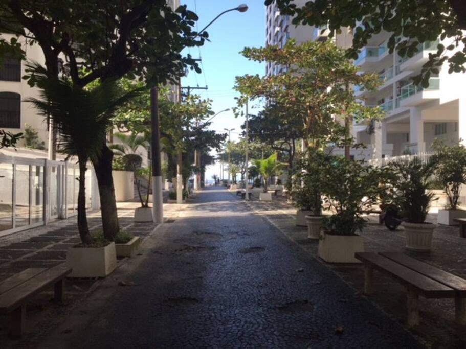 Calçadao para Praia