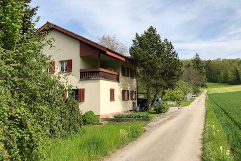 Schöne Wohnung im Grünen