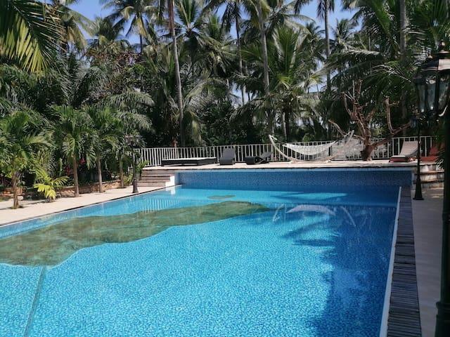 DC Relax Resort casa con giardino e vista piscina