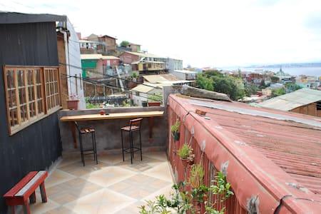 Loft Privado! Corazon de Valparaiso