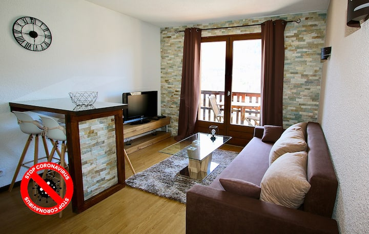 Apartment close to the slopes and amenities