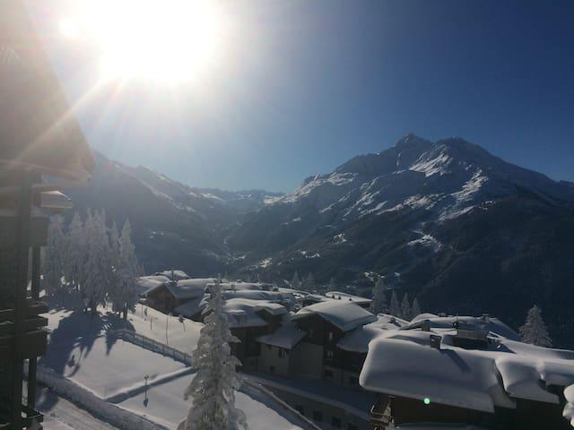 La Rosière - Skis aux pieds- Apt plein sud - Montvalezan - อพาร์ทเมนท์