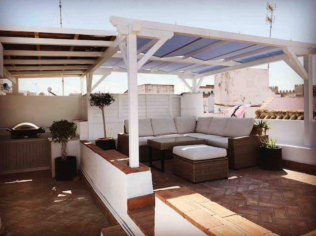 WIFI Penthouse in Old Town Tarifa