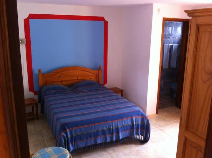 Chambre Foudi Rouge au TIBAMBARI