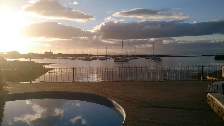Harbour row Groomsport.