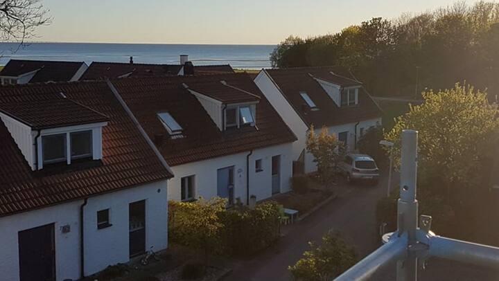 Villa med stranden inom räckhåll