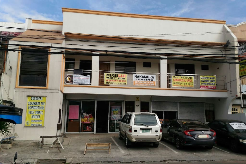 our frontage along main road of BF Homes Paranaque, El Grande Avenue