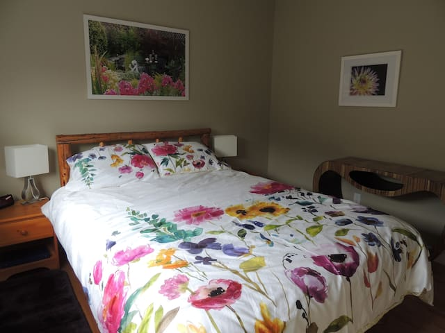 Every guest raves about this super comfortable bed!