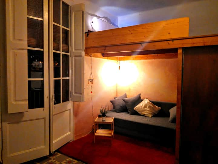 small cozy loft