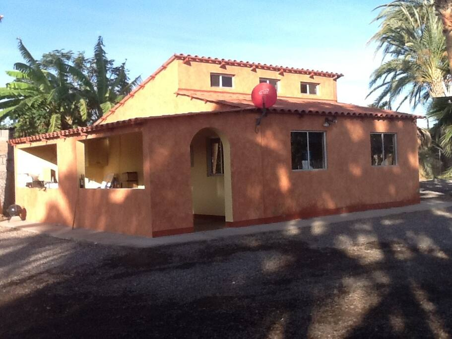 Outside view of the casita