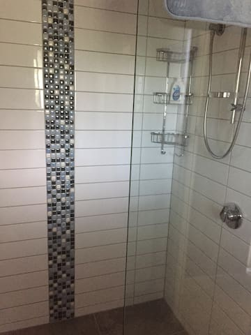 Large Shower.