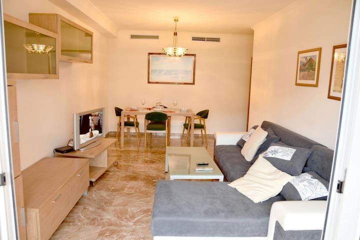 APARTAMENTO EN CIUDAD ARTES Y CIENCIAS CON GARAGE - València - Apartment