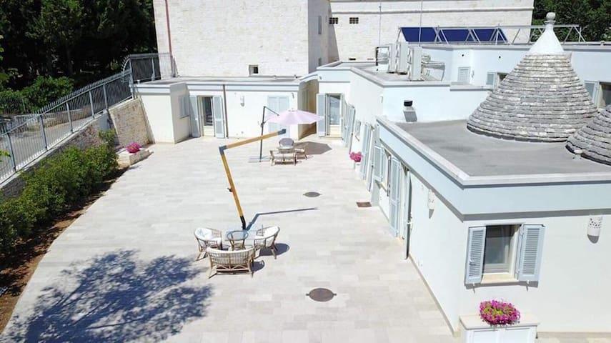 Villa Rosato-apt. 2 people-35 smq