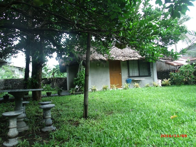 Tabaco city Mayon family friendly cabin/cottage - Tabaco City - Kulübe
