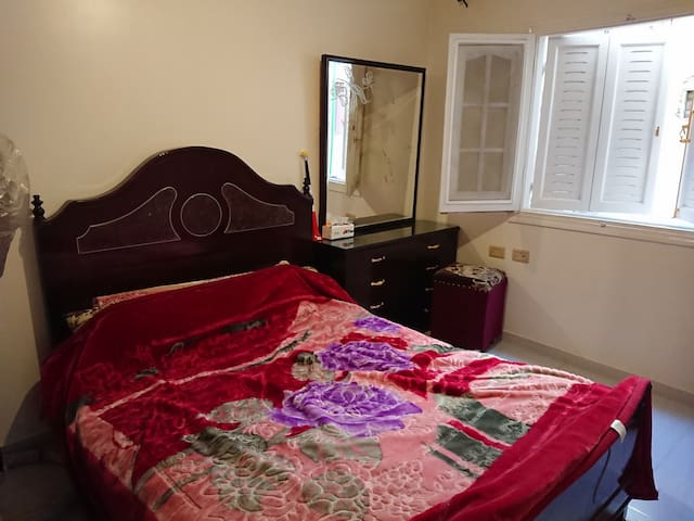 Private Room - Special location in Great Cairo