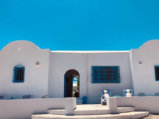 Maison de plage à louer avec vue sur mer