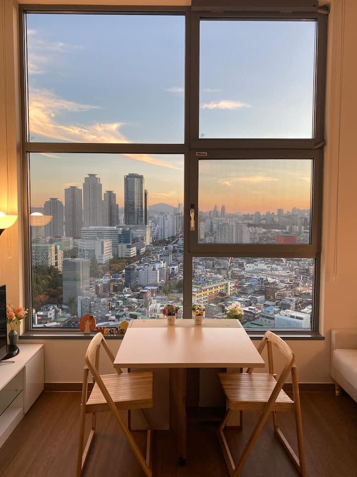 #서울의 풍경을 제대로 볼 수 있는 공간! (건대입구/세종대/어린이대공원역/한강)