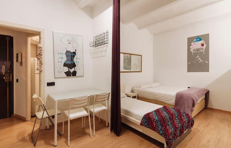 Acogedor estudio Gracia - Parc Güell - Lesseps