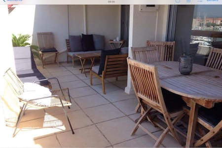 Appartement grande terrasse vue mer - Carnon - Daire