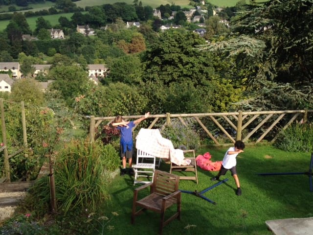 Seven levels of garden to choose from