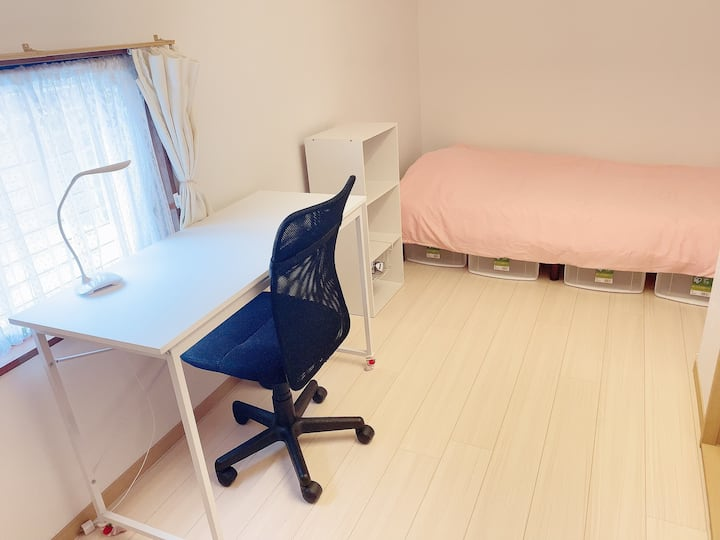 Room4 for woman.30 min to Shinjuku station. 女性専用