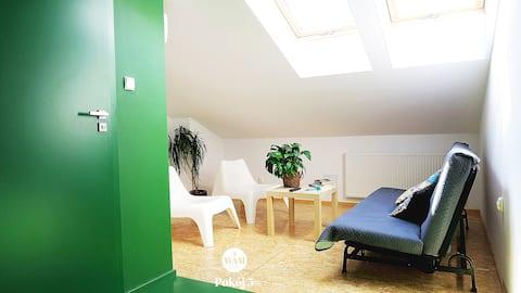 Pokój 5 zielony