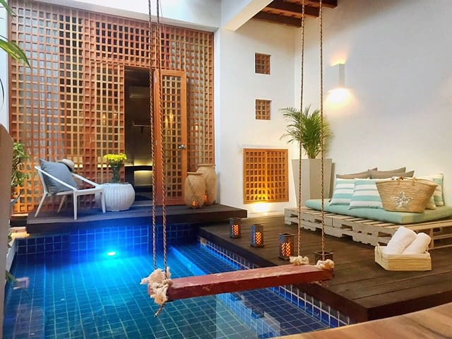 NEW! Breathtaking 2BR private pool at the center