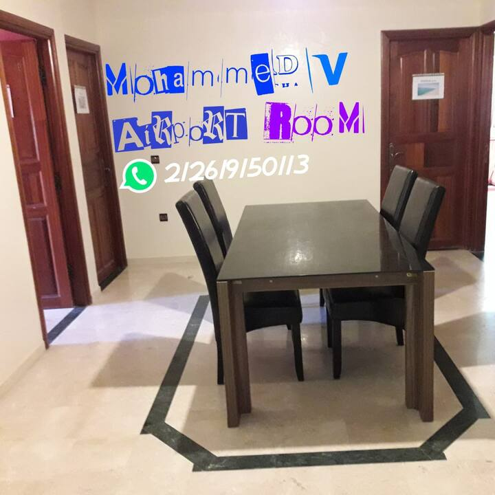 chambre privée Aéroport Mohammed 5