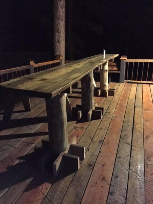 Slab Bar on the Deck