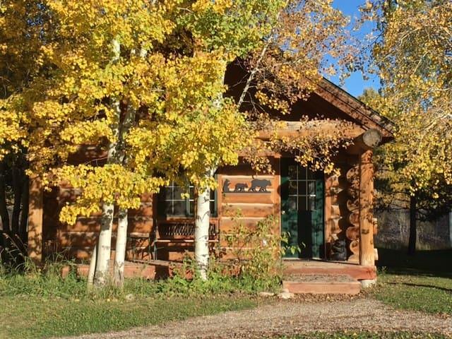 Log Cabin 2QBeds in Idaho Countryside-- Mallard