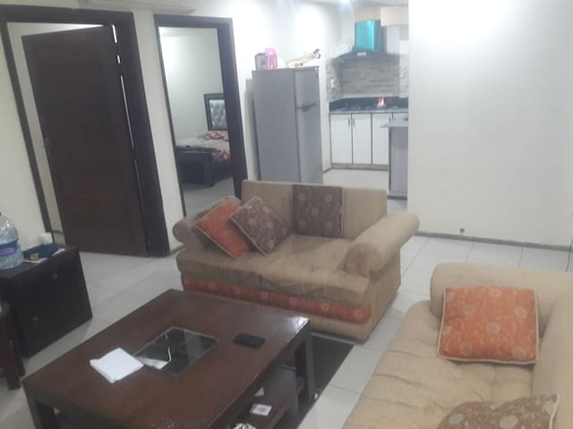 furnished 2 bed room apartment