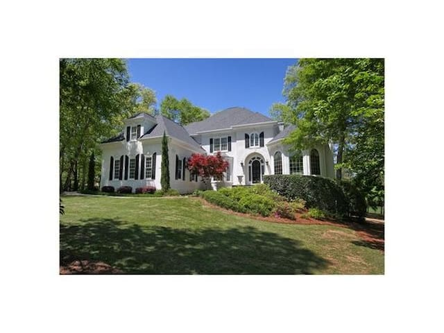 Beautiful spacious and nestled in the midst of golf course