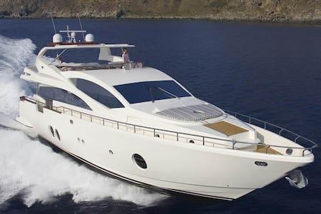 Luxury Yacht.Port Olimpic Barcelona - Barcelona