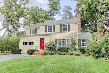 """Located in """"Convent Station"""" area of Morristown, NJ, this charming Colonial  has 3 Bedrooms, 2 Baths and a huge eat-in-kitchen.  There is a train station to NYC approximately 1 mile from the house.  Close to stadiums, shopping, etc.."""