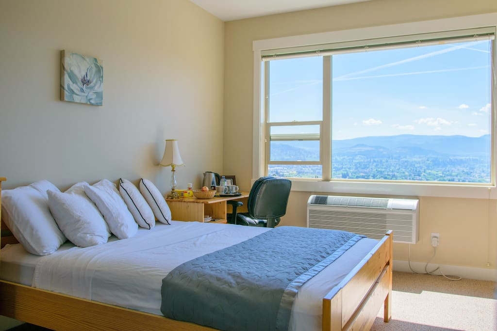 Bright Private And Quiet Master Bedroom In Central Apartments For Rent In Kelowna British
