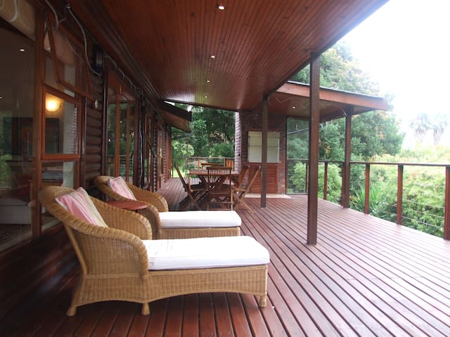 The most relaxing pation in Knysna