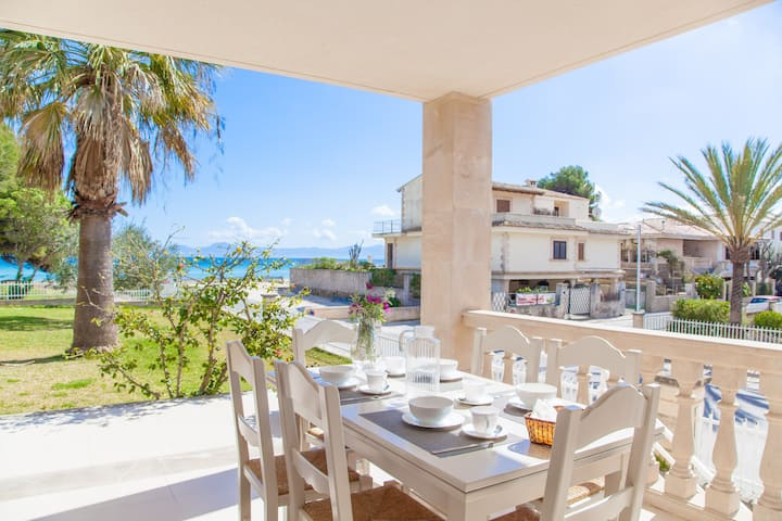 SUN OF THE BAY I (B3 - A2) - Apartment with sea views in Port d'Alcudia. Free WiFi