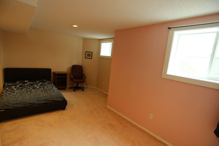 Two bed-room quiet private basement in Hawkwood