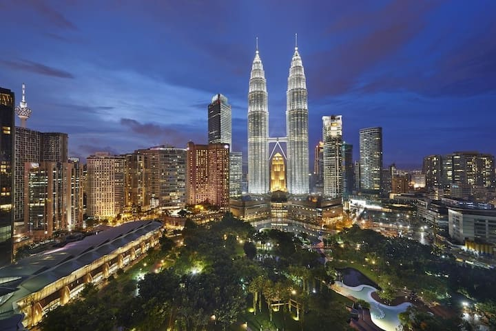 3 min walk to KLCC(M2)|Leisure|Work Desk|City View